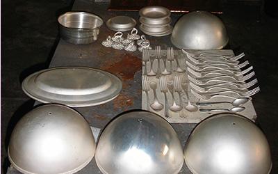 réargenter métal argenté