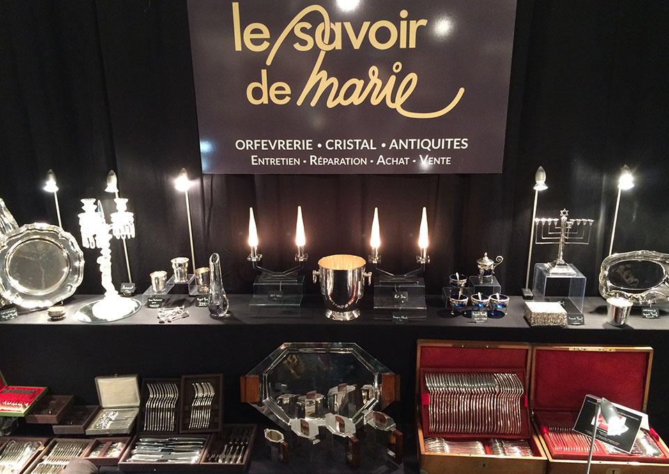 Le Savoir de Marie au salon des Antiquaires de Colmar 2014