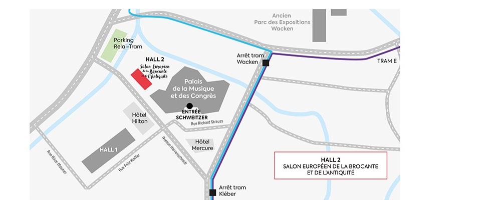 nouveau Hall 2 Parc des Expositions Strasbourg Wacken
