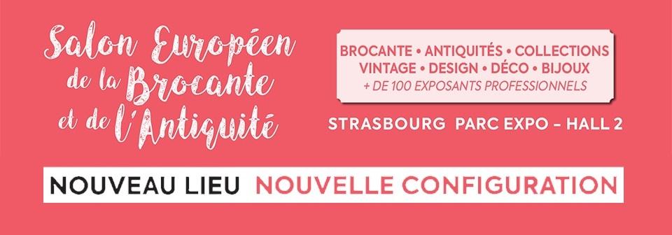 Salon Européen de l'Antiquité et de la Brocante Strasbourg Wacken