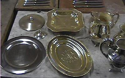 Préparation métal argenté pour argenture