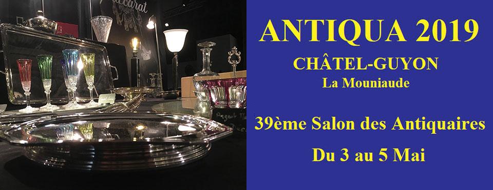 Antiqua 2019 salon Antiquaire Châtel-Guyon