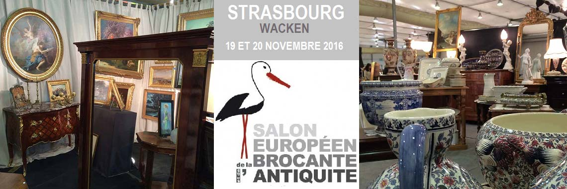 Salons des antiquaires antiquit s art de la table for Salon strasbourg wacken