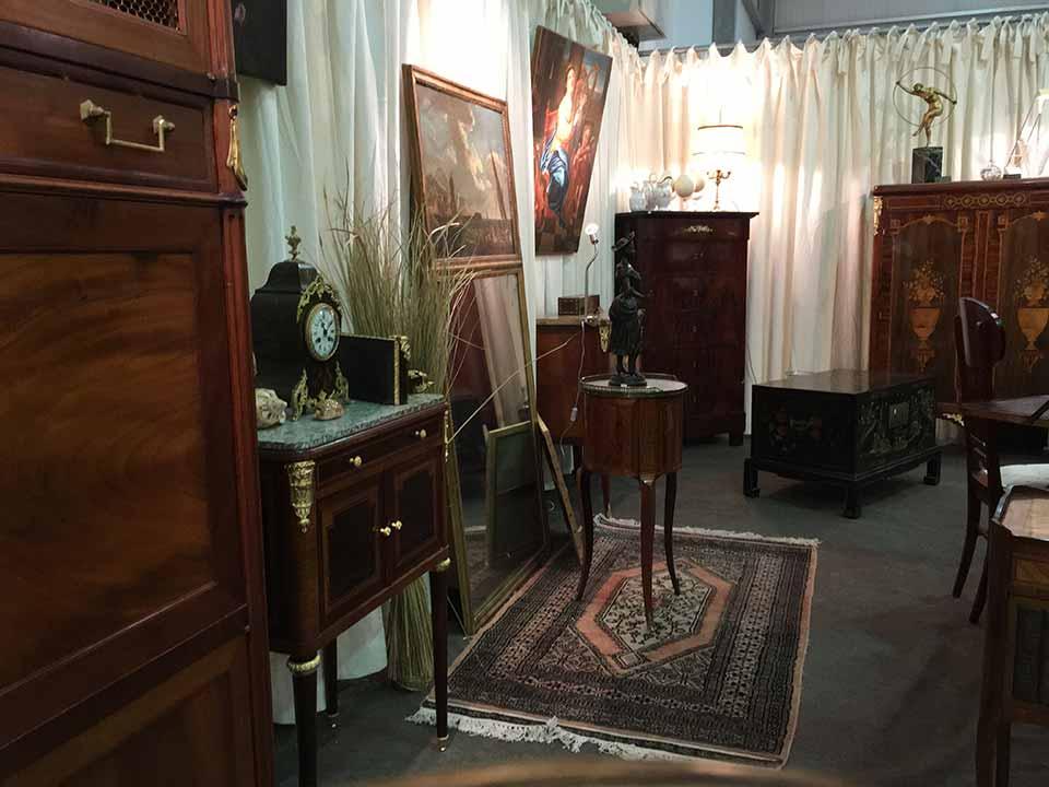 salon Europeen antiquités brocante Strasbourg Wacken février 2016