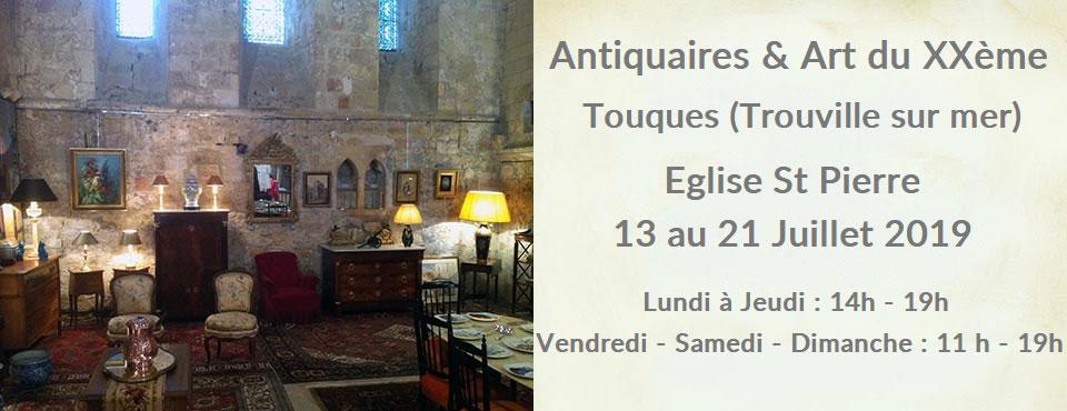 salon des antiquaires & art du XXème Touques 2019 proche Deauville & Trouville