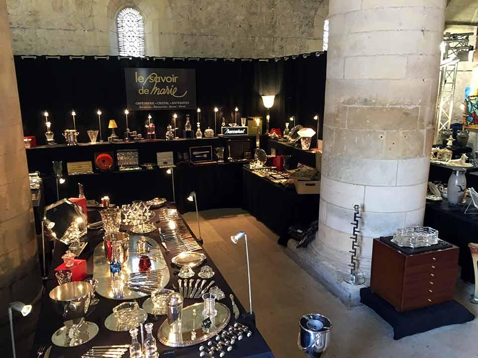 Le Savoir de Marie au salon des Antiquaires de Touques en 2018 : Antiquités, vintage, Design et Art Déco