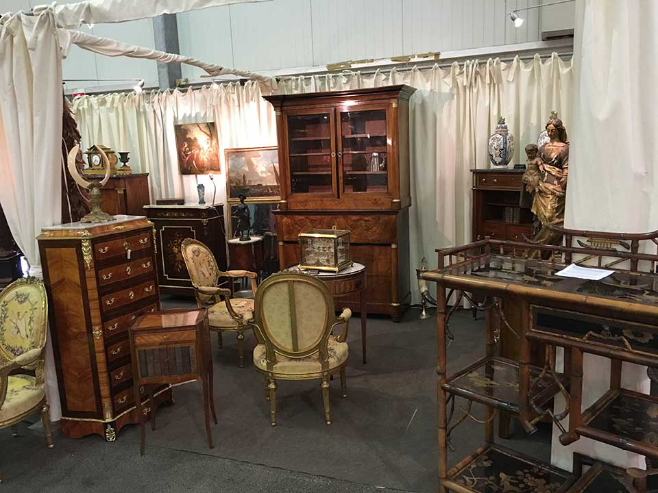 salon Europeen antiquités brocante Strasbourg Wacken novembre 2016